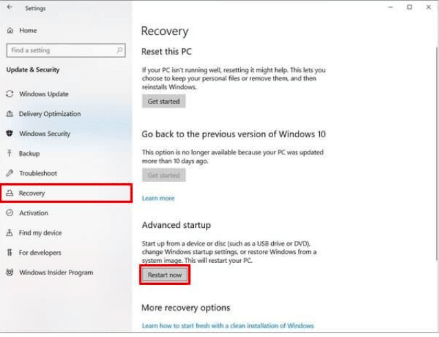 enable virtualization windows 10