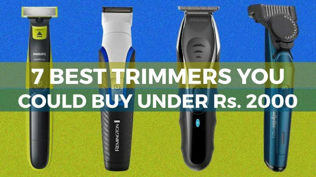 best trimmers under 2000