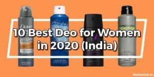 best deo for women